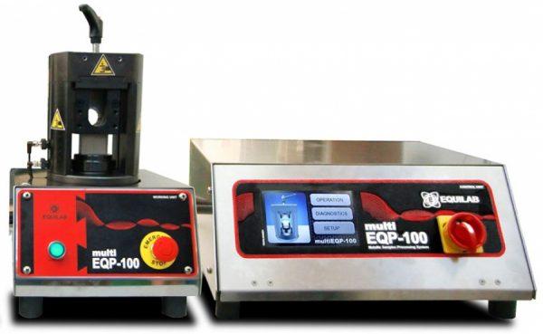 Metallic samples processing system